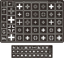 Alliance Model Works 1:35 Stencil German Balkenkreuz Cross Kursk #LW35019