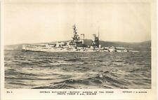 More details for scapa flow, orkney. scuttled german battleship bayern # 2 by c.w.burrows