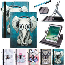 Fr Samsung Galaxy Tab A E 9.6-10.1 360 Rotate Universal Leather Case Stand Cover
