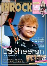 INROCK May 2019 Japan Magazine Ed Sheeran Miley Cyrus Ariana Grande Avril