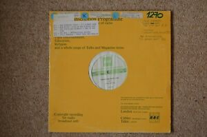 BBC Transcription Disc - Top Of The Pops 1270. The Travelling Wilburys & More