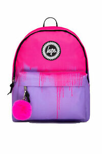 HYPE PINK & LILAC DRIPS BACKPACK