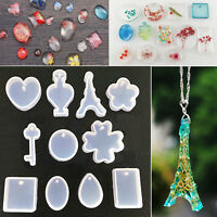 11 in Silicone Pendant Crafts DIY Mold mold jewelry necklace Mould Template R6B1