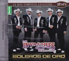 Los Invasores de Nuevo Leon La Mas completa Coleccion 2CDs New Nuevo Sealed