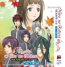 DVD Japan Anime Hiiro no Kakera Complete Series Season 1+2 (1-26 End) Eng Subs