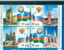 ARCHITETTURA & BANDIERE - ARCHITECTURE & FLAGS AZERBAIJAN 2006 set