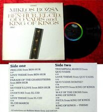 LP Miklos Rozsa Conducts the great Themes from Ben Hur