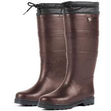 Erwachsene Dublin Neopren Gummistiefel Wasserdicht Regen Country Stiefel 31-41