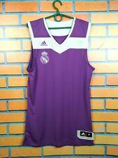Real Madrid Jersey 2016 2017 Basketball M Shirt Adidas Football Soccer B37021