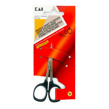 Kai 5100 4-Inch Straight Point Needle Craft Embroidery Scissors