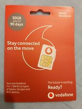 ✅ VODAFONE PAYG 30GB DATA SIM ✅ USE FOR 90 DAYS ✅ FAST & FREE SHIPPING ✅