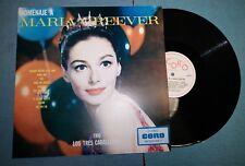 Homenaje A Maria Greever Grever & Los Tres Caballeros Coro CLP876 LP Mexico Rare