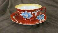 Merit Cup and Saucer Hand Painted Made In Occupied Japan