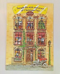 Vintage 1984 Cumberland Hotel Marble Arch London Christmas Past Holiday Menu 84