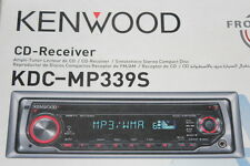 KENWOOD CAR STEREO KDC-MP339S CD-RECEIVER MP3 BASS BOOST REMOTE CD IPOD RADIO