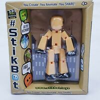 New Stikbot Yellow STIKBOT Action Figure New in Package 3 Inches Tall