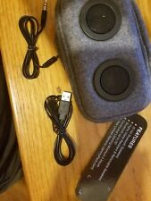 JAMMYPACK GRAY & BLACK RECHARGEABLE BLUETOOTH PORTABLE SPEAKER