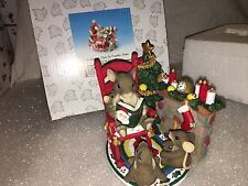 """Charming Tails """"Christmas Time Is Family Time"""" Fitz And Floyd"""