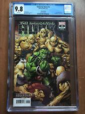 Immortal hulk #16 variant asgardian cover CGC 9.8 amazing shape red harpy!