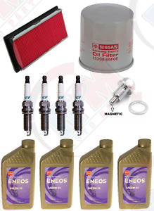 Tune Up Kit with ENEOS 5w-30 SYNTHETIC Oil  for 2012-2017 Nissan Versa