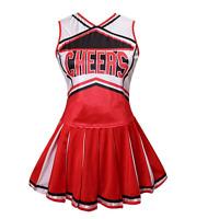 Women's High School Musical Classic Cheerleader Athletic Uniform Fancy Dress