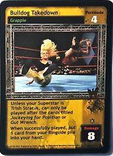 WWE Raw Deal CCG Velocity 8.0 Bulldog Takedown