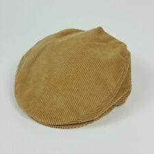 Vintage Brown Corduroy USA Union Made Mens Size M Cabbie Newsboy Flatcap Cap Hat