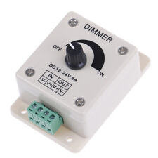 1Pc 12v-24v 8a pir sensor led strip light switch dimmer brightness controller KC