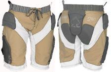 """PROTEC Halo Donna Imbottito snowboard impatto pantaloncini-Marrone/Bianco/Carbon 29 - 30"""" L"""