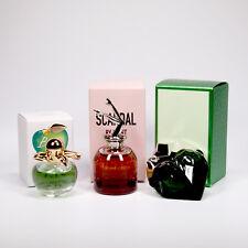 3 Mini Perfume Miniature Nina Ricci BELLA Gaultier SCANDAL by NIGHT Mugler AURA