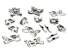 T5025SILVER Integy Billet Machined Suspension Set Package for HPI Savage XS Flux