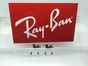 Genuine RayBan 8313, 8412, 8416 & 8901 Replacement Icons & Screws for temples