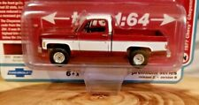 Auto World Muscle Trucks 1977 Chevy Cheyenne C10 Fleetside 1:64 Diecast Truck