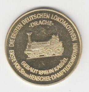Médaille Train Locomotives Aigle - Dragon