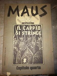 LIBRO: MAUS - IL CAPPIO SI STRINGE - ART SPIEGELMAN - supplemento linus