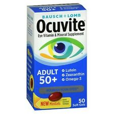 Bausch & Lomb Ocuvite Adult 50+ Soft Gels 50 ct
