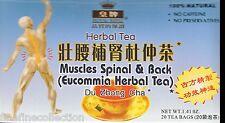 Royal King - Muscles spinal & back- herbal tea  (20 tea bag net 1.41 oz ) box
