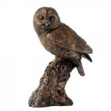 Border Fine Arts Studio Bronze Tawny Owl Rustic Collection Figure