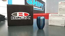 BLOX Racing Weighted Shift Gear Knob Blue M12X1.25 5-Speed Subaru WRX