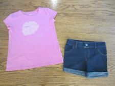 Gap Girls Top Size M (8) and Circo Shorts Size M (7/8)