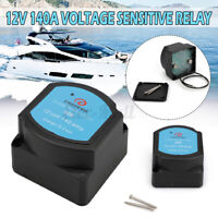 Automotive Dual Battery Isolator Relay Protection Voltage Split Charge 12V 140A