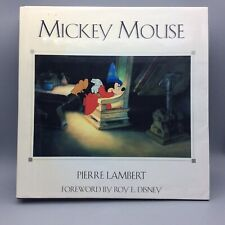 Mickey Mouse by Pierre Lambert Book Disney Pictures History