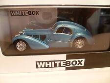 BUGATTI 5 ATLANTIC BLEU de 1937 : WHITE BOX ~  NEUF
