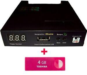 Floppy Drive to USB Converter Emulator for Okuma Lathe + free 16 GB Flash Drive