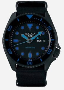 Seiko 5 Gents Automatic Divers Style Sports Watch SRPD81K1 NEW