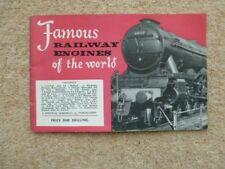 FAMOUS RAILWAY ENGINES OF THE WORLD 1950s