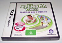 My Health Coach Manage Your Weight Nintendo DS 2DS 3DS Game *Complete*