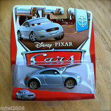 Disney PIXAR Cars JONATHAN SHIFTKO 2014 ALLINOL BLOWOUT diecast 9/9 INTL CARD