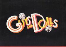 "Nathan Lane  ""Guys and Dolls""  Souvenir Program  Circa  1993  Broadway Revival"