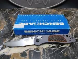 BENCHMADE KNIVES 705-03 Axis w/Bone 088/100 Limited Edition